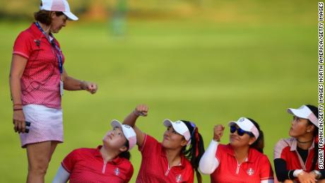 "Captain's pick Angel Yin says taking part in the 2017 Solheim Cup was ""like a dream"""