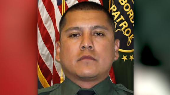 Border patrol agent funeral Rogelio Martinez