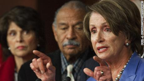 Nancy Pelosi calls on John Conyers to resign