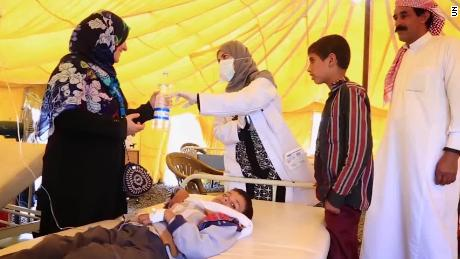 Vaccines for kids land in war-stricken Yemen
