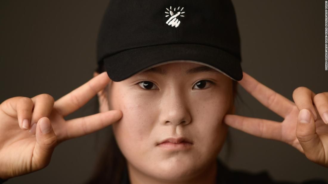 Teenager Angel Yin is one of the biggest hitters on the LPGA Tour.