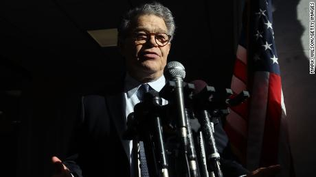Al Franken on Capitol Hill says 'There are no magic words that I can say to regain your trust'