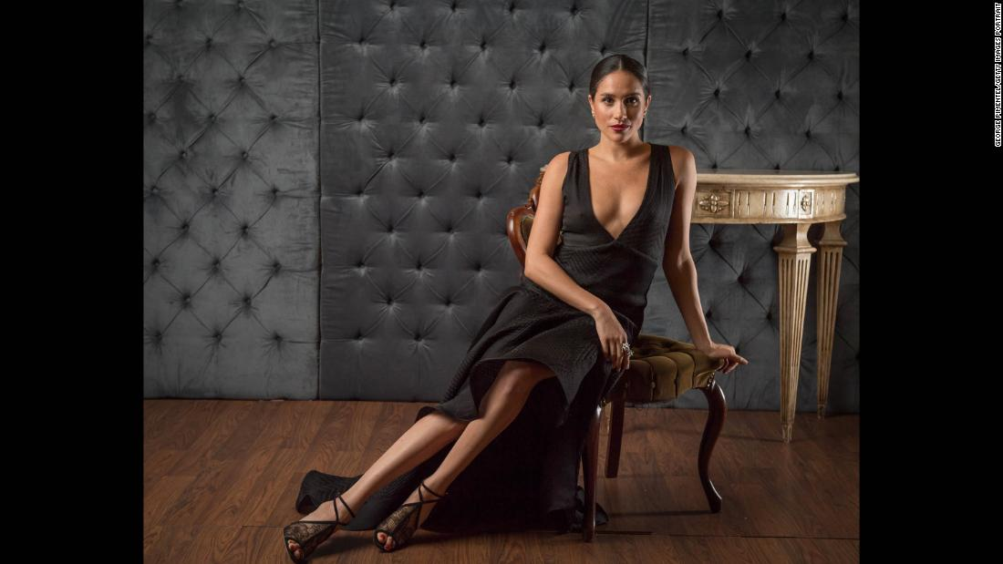 Markle poses for a portrait in Toronto in April 2016.