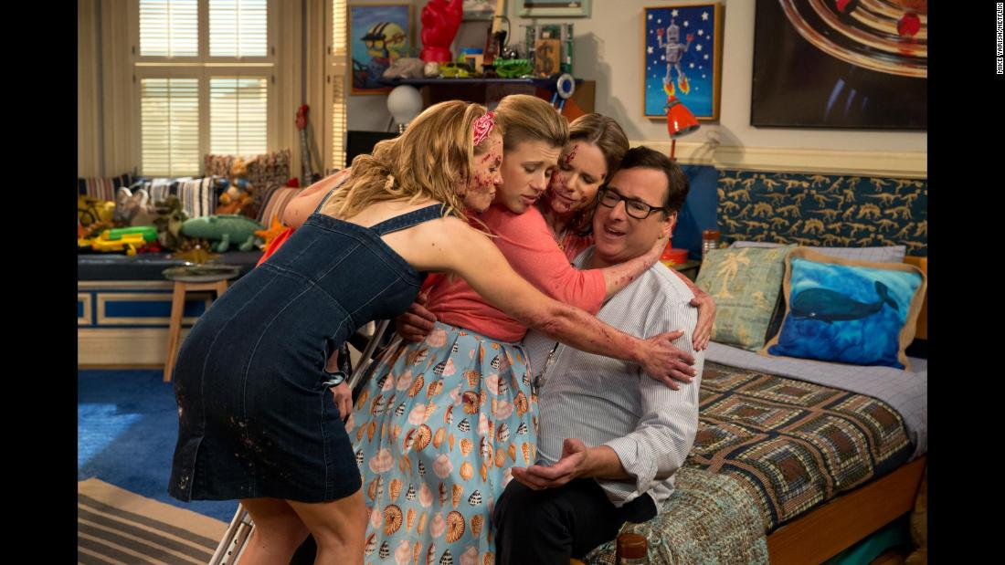 "<strong>""Fuller House"" Season 3</strong>: The Fuller family and assorted friends and family are back for another season of this continuation of the hit 90s sitcom ""Full House."" <strong>(Netflix) </strong>"