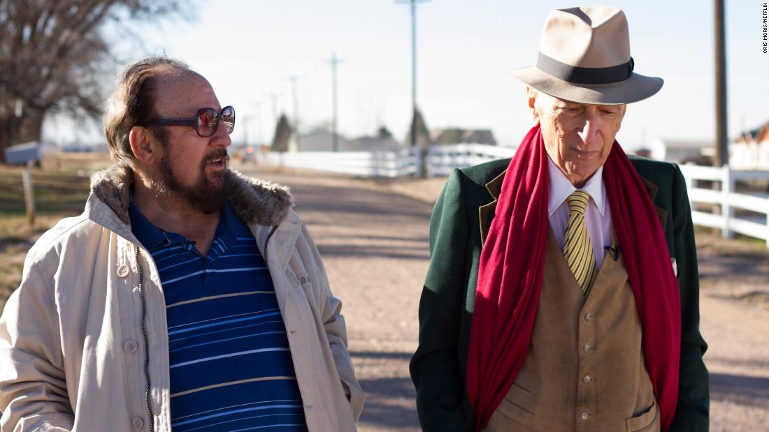 "<strong>""Voyeur""</strong>: Gerald Foos and famed journalist Gay Talese appear in this documentary about the quest to tell Foos who purchased a motel to spy on people and their sex lives. <strong>(Netflix) </strong>"