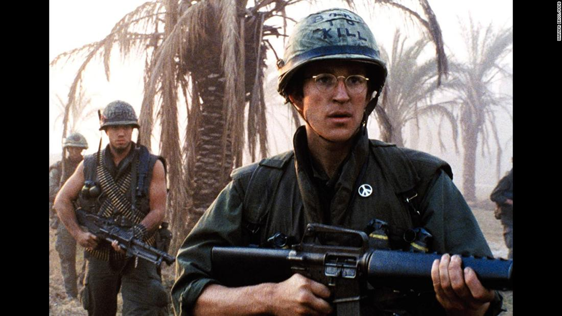 "<strong>""Full Metal Jacket""</strong>: Adam Baldwin and Matthew Modine star in this 1987 film about the brutality experienced by a group of soldiers during the Vietnam War. <strong>(Netflix) </strong>"