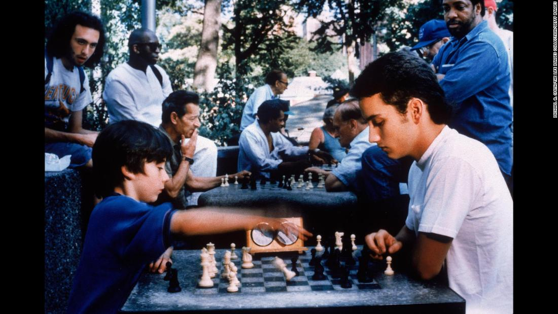"<strong>""Searching for Bobby Fischer""</strong>: Max Pomeranc (left) stars as chess prodigy Josh Waitzkin in this 1993 film. <strong>(Amazon Prime, Hulu) </strong>"