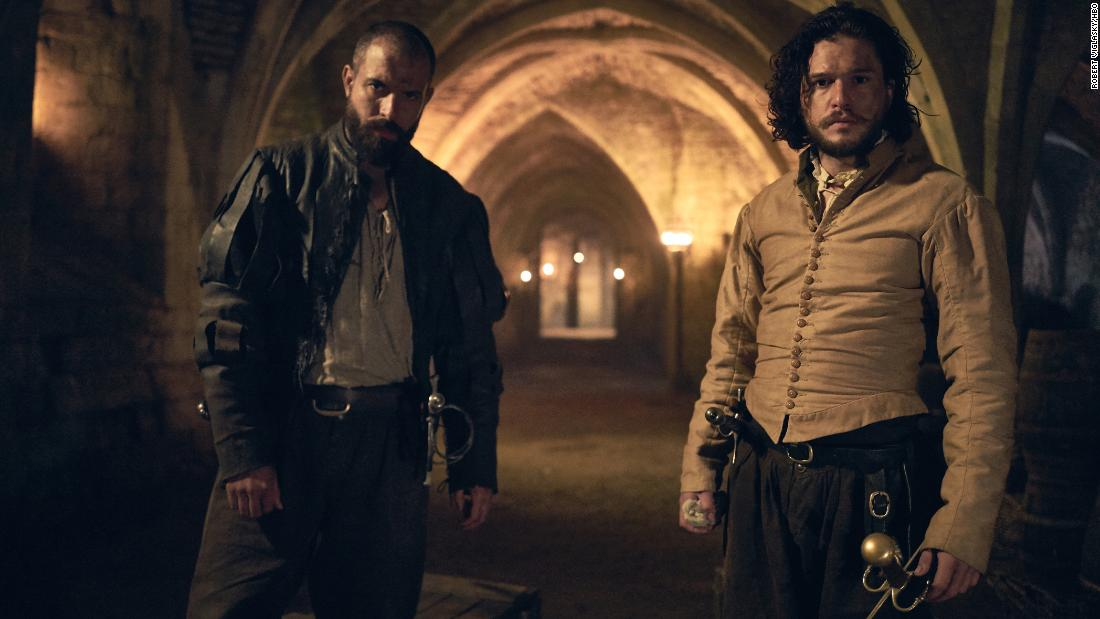 "<strong>""Gunpowder""</strong>: Tom Culle and Kit Harington star in this miniseries about the events that led to the founding of Guy Fawkes Day. <strong>(HBO Now) </strong>"