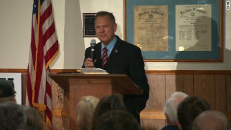 Roy Moore compares accusations against him to Russia probe