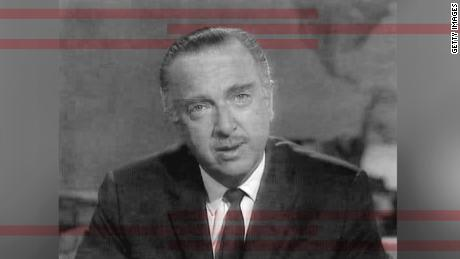 Walter Cronkite in 1968 broadcast