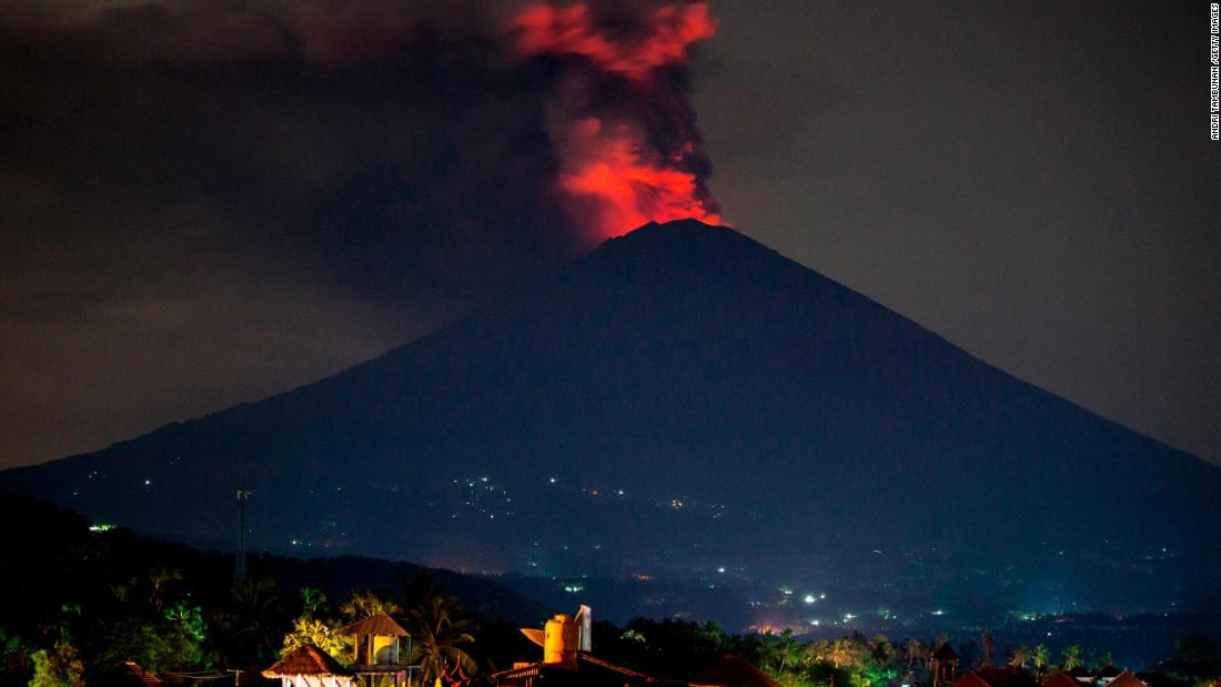 Bali Volcano Residents Living In Evacuation Zone Urged To Leave Now