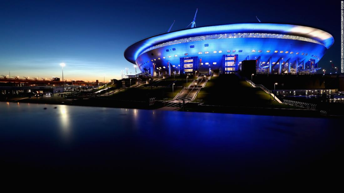 Designed by late Japanese architect Kisho Kurosawa to look like a spaceship, the brand new St. Petersburg Stadium was built on Krestovsky Island where the 110,000-capacity Kirov Stadium used to stand.