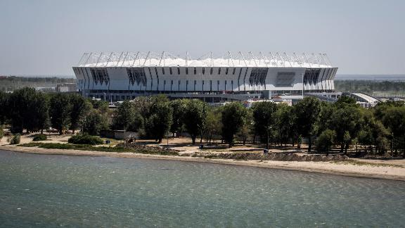 Rostov Arena World Cup schedule: Group stage, last 16 Legacy: As one of the first major projects built on the southern bank of the Don River, architects hope the 45,000-seater stadium will attract a flow of people and investment from the north. It will also host Russian Premier League side FC Rostov's home fixtures.