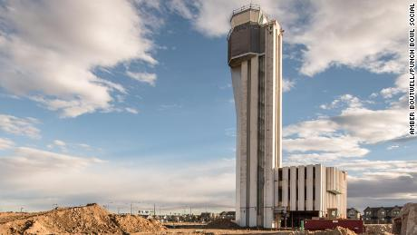 Stapleton air traffic control tower tease