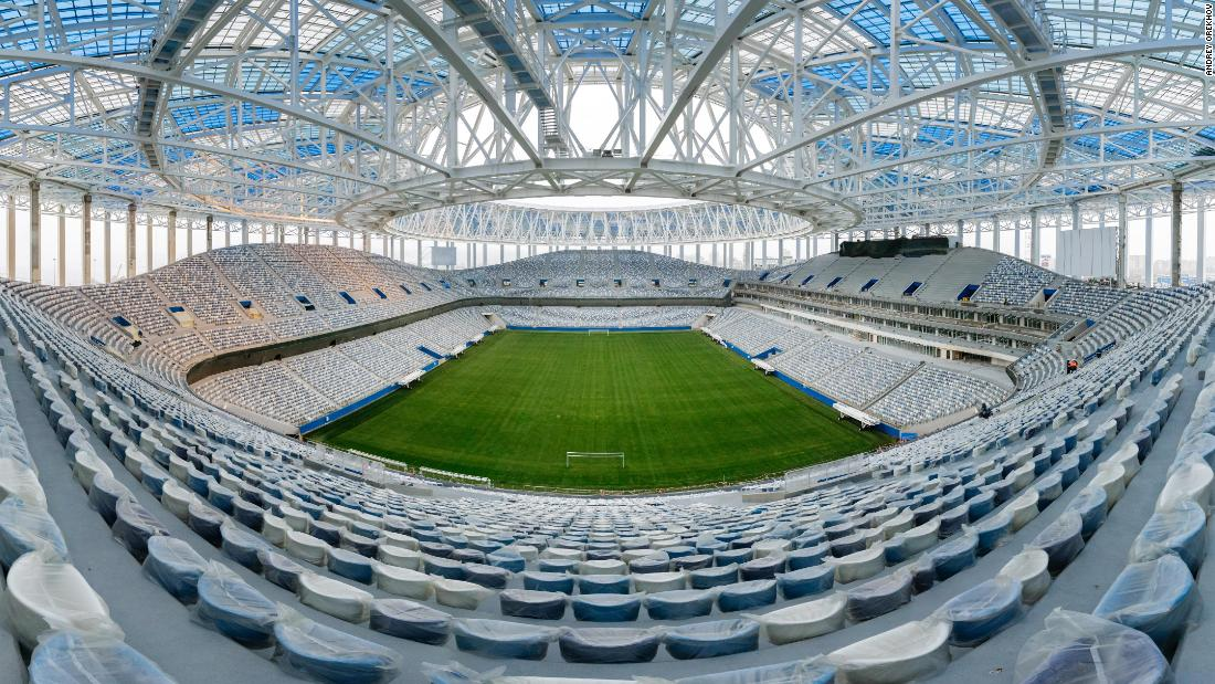 <strong>Nizhny Novgorod Stadium World Cup schedule:</strong> Group stage, last 16, quarterfinals<strong><br />Legacy</strong>: The stadium was intended to become the permanent home of Russian club FC Volga, replacing the Lokomotiv Stadium after the tournament. However, Volga dissolved because of financial troubles in June 2016. Instead, second tier Olympiets Nizhny Novgorod will call the new build home.