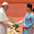 06 Pope Francis Myanmar 1128 RESTRICTED