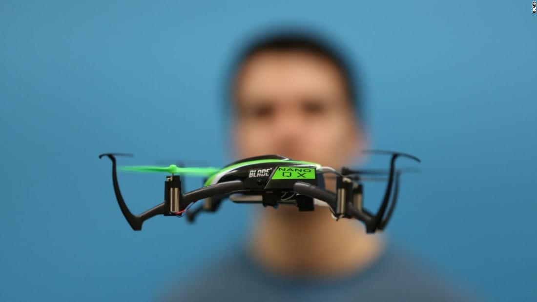 "The Blade Nano QX is small by name, small in nature. Without a camera it's one for drone puritans and like Mihir Garimella's Google Science Fair-winning invention, is well equipped to avoid obstacles mid-flight. <a href=""http://money.cnn.com/gallery/technology/gadgets/2017/05/25/mini-drones-gadgets/3.html""><strong>Read more.</a></strong>"