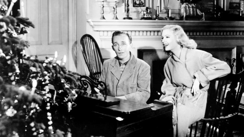 that famous holiday tune dates back to 1942 more than a decade before this movie crosby first sang white christmas in the movie holiday inn and again - Black And White Christmas Movie