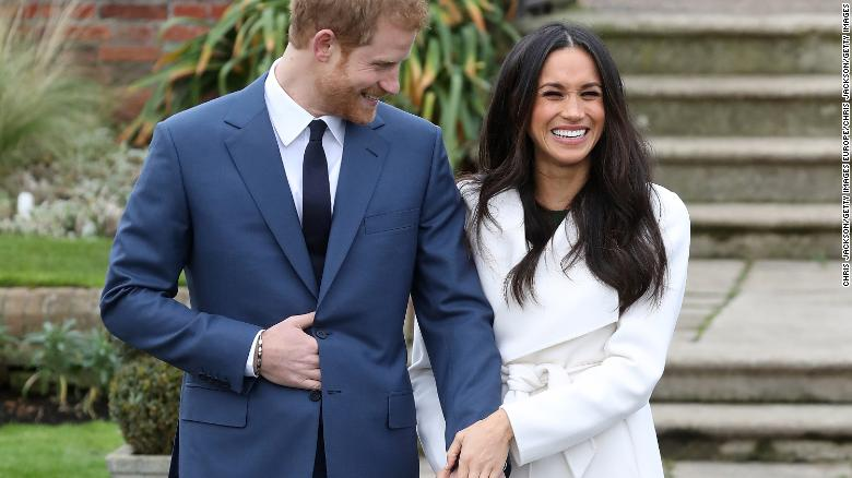 Meghan Markle And Prince Harry Reveal Wedding Cake Details Cnn