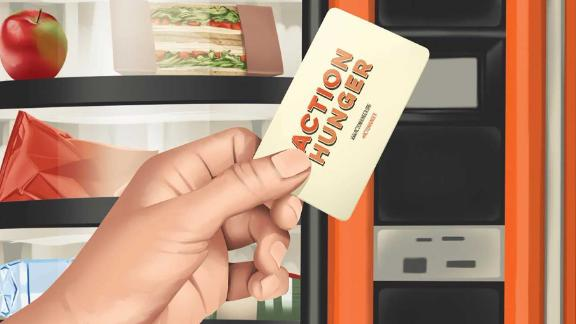United Kingdom-based charity Action Hunger is providing basic needs for homeless people via vending machines.
