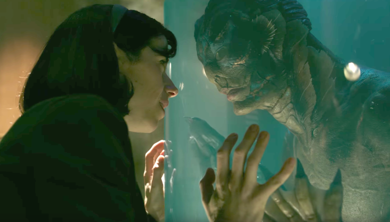 salah satu adegan di film The Shape of Water