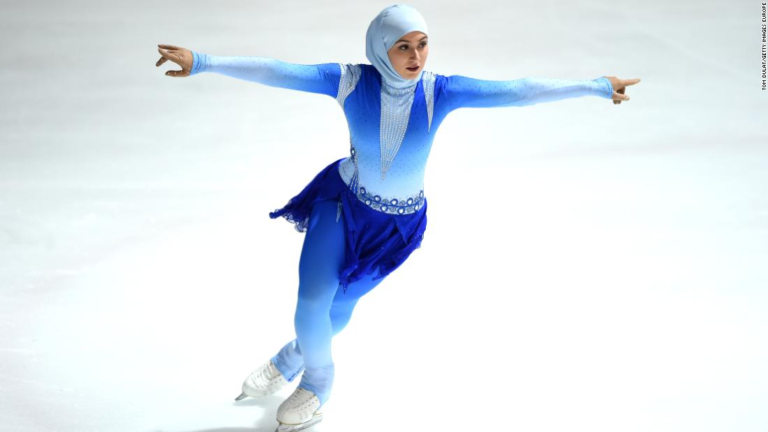 """I began skating when I was 12 years old, after watching the movie 'Ice Princess',"" says Lari. ""I just happened to see the movie and loved it immediately!"""