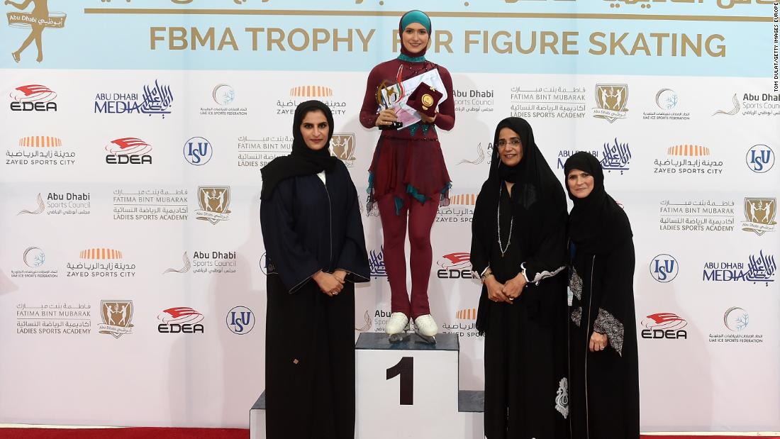 Lari's main sponsor is The Fatima Bint Mubarak Ladies Sports Academy, based in Abu Dhabi. Since 2015, it has held the FBMA Trophy for Figure Skating. Since 2014, it has  organized the International Conference of Sports for Women. Lari believes both events have encouraged women in sports and changed perceptions about them.