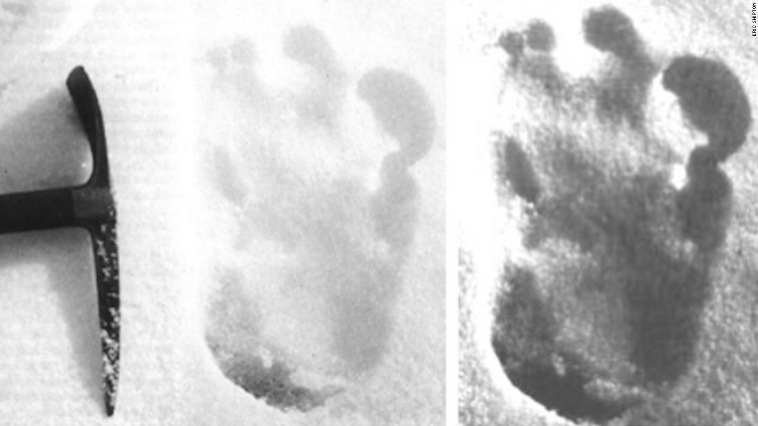 'Yeti' footprints sighted claims Indian Army tweet -- and social media reacts