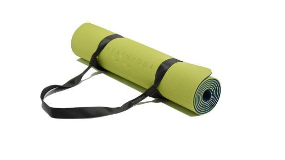 Healthyoga Eco-Friendly Yoga Mat ($39.95; amazon.com)