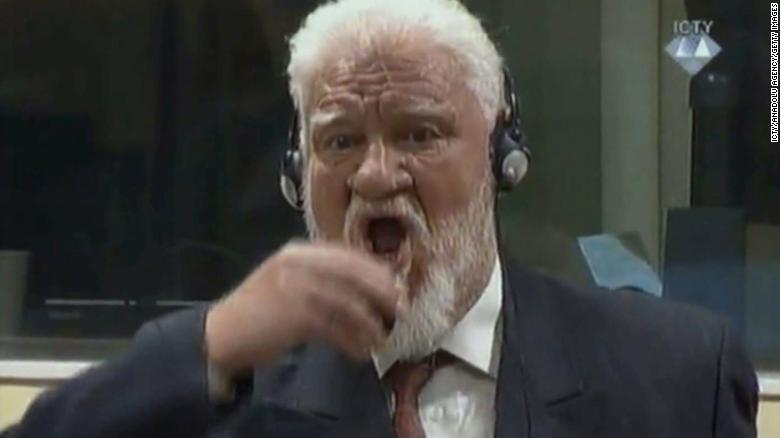 Slobodan Praljak Genocide >> Slobodan Praljak Bosnian War Criminal Dies After Swallowing Poison