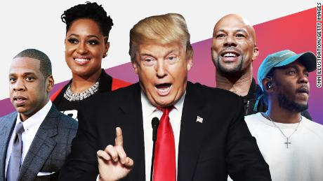 Why Jay-Z and these 11 hip-hop stars see a silver lining to Trump