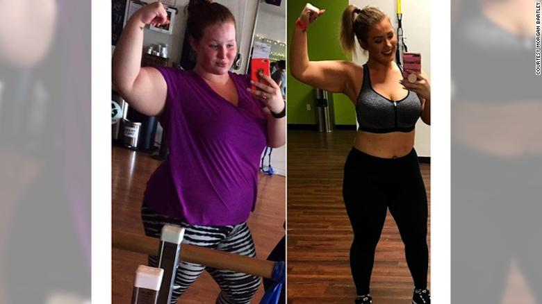 Instagram helped young woman lose weight