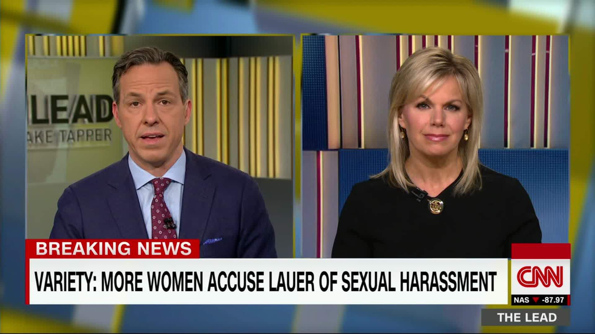 Jake Tapper Sexual Harassment