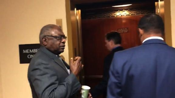 """title: Alex Moe - CBC Chair Richmond asks for ex. of ppl leaving jobs faster than Conyers when face sexual harassment claims; Clyburn asks """"who elected them?"""" duration: 09:03:53 site: Twitter author: null published: Wed Dec 31 1969 19:00:00 GMT-0500 (Eastern Standard Time) intervention: yes description: null"""