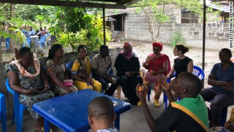 Those in the Kipunguni program discuss how to stop the practice.
