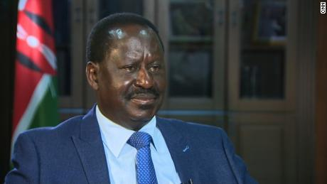 Kenyan opposition leader Odinga says he'll abide by the constitution