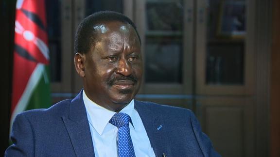 Kenyan Opposition Leader, Raila Odinga