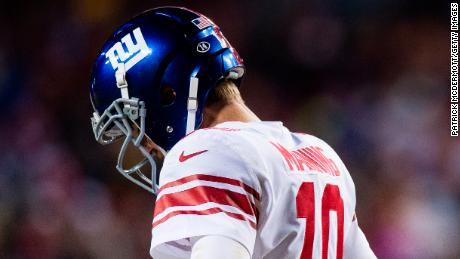 Quarterback Eli Manning turns 37 on January 3.