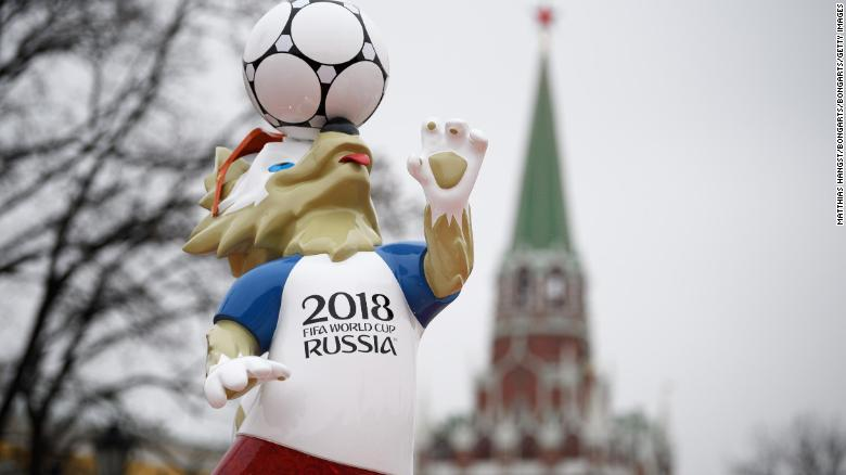 MOSCOW, RUSSIA - NOVEMBER 30:  Moscow prepares for the 2018 FIFA World Cup Draw on November 30, 2017 in Moscow, Russia. (Photo by Matthias Hangst/Bongarts/Getty Images)