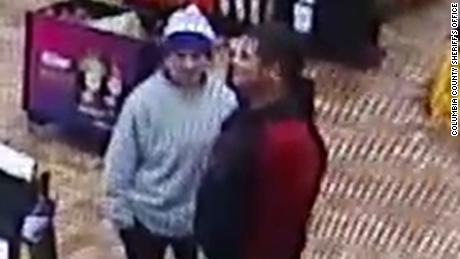 Frisina, 17, and Rodriguez, 27, were spotted at a Pilot convenience store in Saint George, South Carolina last Sunday.
