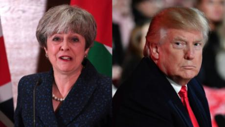 cnnee pkg claudia rebaza reaccion theresa may retuits trump islamofobia eeuu gran bretana_00003826
