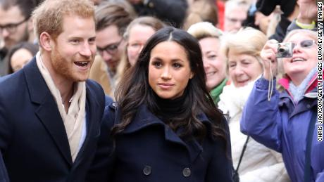 NOTTINGHAM, ENGLAND - DECEMBER 01:  Prince Harry and fiance Meghan Markle attend the Terrance Higgins Trust World AIDS Day charity fair at Nottingham Contemporary on December 1, 2017 in Nottingham, England.  Prince Harry and Meghan Markle announced their engagement on Monday 27th November 2017 and will marry at St George's Chapel, Windsor in May 2018.  (Photo by Chris Jackson/Getty Images)