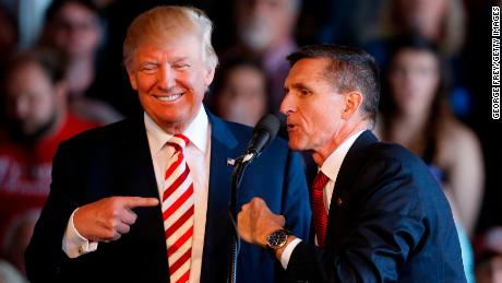 Donald Trump is totally not worried about Michael Flynn's guilty plea