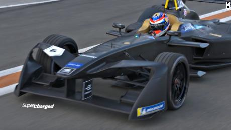 Driving a Formula E car - not as easy as it looks