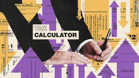 Use this calculator and see how the tax bill will affect your paycheck