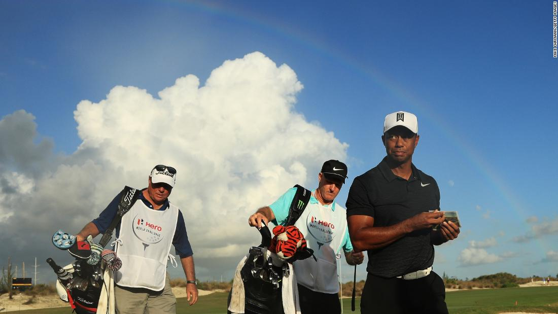 Woods returned to golf after 301 days at the Hero World Challenge in the Bahamas on November 30 2017. He carded a three-under first-round 69 and appeared pain-free and hungry to resume his career.