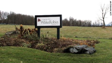 No residents at the Wake Robin community showed symptoms of poisoning.