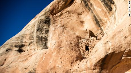 Native Americans built grain stores and other structures in what is now southern Utah.