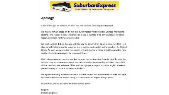 Suburban's second email