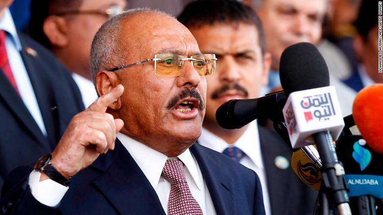 Yemen ex-leader killed, crushing peace hopes